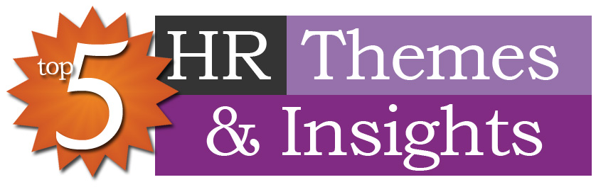 Top 5 themes and insights of HR