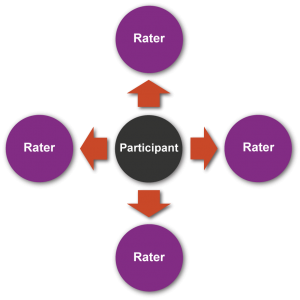 360 Degree Feedback diagram_rater
