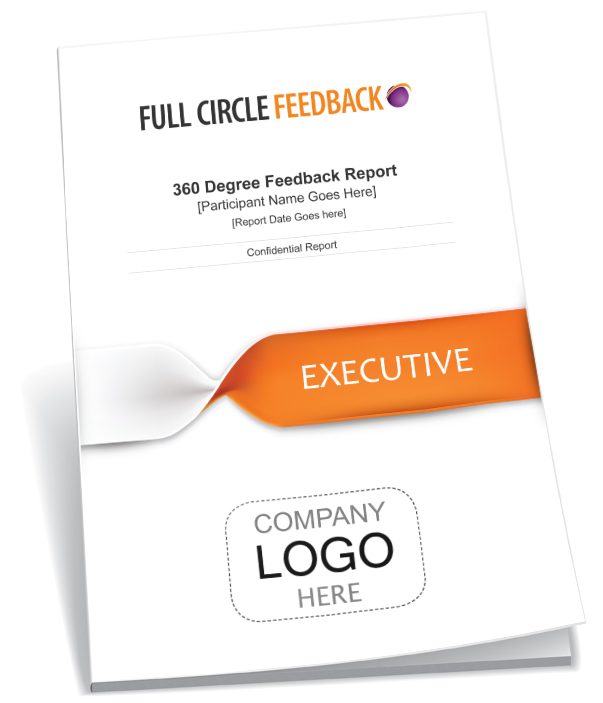 350 Degree Feedback Survey - report cover for Executive
