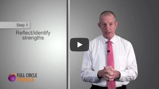 Video on receiving feedback - Step 1: Reflect and identify strengths