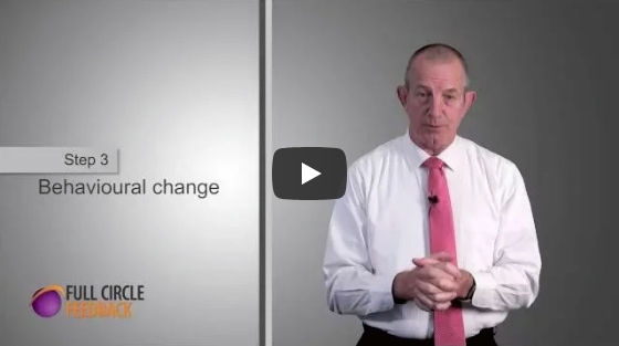 Video on receiving feedback - Step 3: Behavioural change